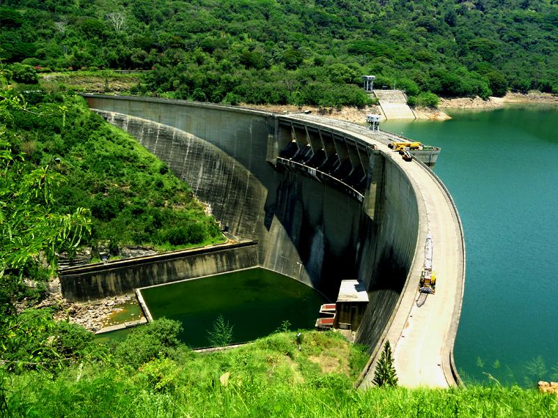 Victoria Dam-Srilanka-Rivers