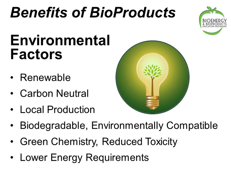Benefits of Bio Products