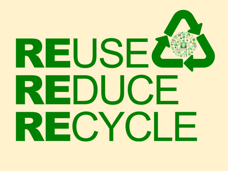 What is 3 R's in Reduce